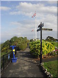 SX9265 : Path along Babbacombe Downs by andrew auger