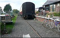 NZ9208 : Platform at Hawsker station by Graham Horn