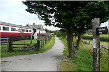 NZ9208 : Hawsker station by Graham Horn