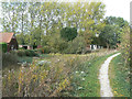 SK6733 : Grantham Canal at Fishpond Wood by Alan Murray-Rust