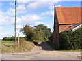 TM2641 : Bridleway to Park Lane by Geographer