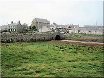SH3568 : Old bridge Aberffraw by John Firth