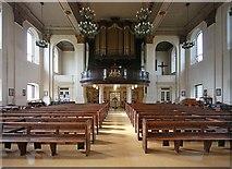 TQ3880 : All Saints, Newby Place, Poplar - West end by John Salmon