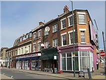 TQ2282 : Shops and flats, Harrow Road, NW10 by Mike Quinn