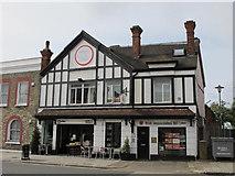 TQ2282 : Mock Tudorbethan building, Harrow Road, NW10 by Mike Quinn