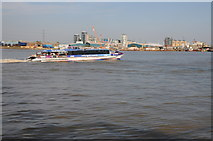TQ3980 : KPMG Thames Clipper by Philip Halling