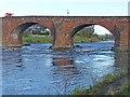 NY3768 : Longtown Bridge by Oliver Dixon