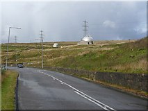 SD8923 : The A681 Bacup Road, Todmoden by Humphrey Bolton
