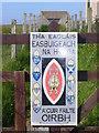 NB5164 : Church Sign, Eoropaidh by Colin Smith