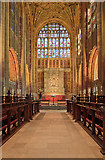 ST6316 : A brief tour of Sherborne Abbey - the choir by Mike Searle