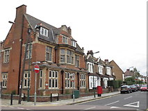 TQ2383 : Kensal Green Library, College Road / Bathurst Gardens, NW10 by Mike Quinn