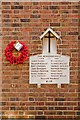 TL1406 : World War 1 Street Memorial, Sopwell Lane by Ian Capper