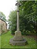 NZ3243 : St Laurence Church at Hallgarth, War Memorial by Alexander P Kapp
