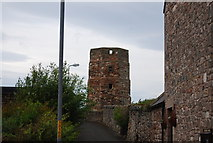NT9953 : Bell Tower, Berwick Ramparts by N Chadwick