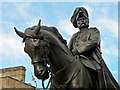 TQ3080 : Statue of Field Marshall, His Royal Highness Prince George, Duke of Cambridge -  Whitehall  by Mick Lobb