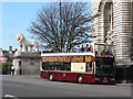 TQ3079 : Big Bus Tours bus - Westminster Bridge by Mick Lobb