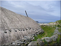 NB1340 : Iron Age House, Bosta / Bostadh by Colin Smith