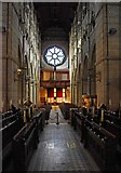 W6671 : St. Fin Barre's Cathedral (interior) - looking west, Cork by P L Chadwick
