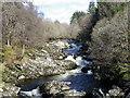 NO1356 : Black Water near Blacklunans by Maigheach-gheal