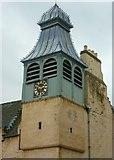 NT2676 : St. Ninian's Manse clock tower by kim traynor