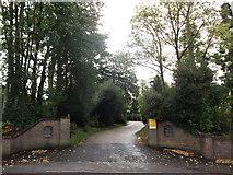 TQ4265 : Entrance to Keston Park Estate by David Anstiss