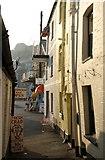 SX2553 : Alley, Looe by Derek Harper
