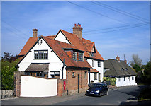 SU5290 : Houses in Old Didcot by Des Blenkinsopp