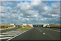 SK8839 : A1 - new road arrangement, Gonerby Moor by Robin Webster