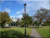 TQ2875 : Looking towards Clapham Common North Side by Marathon