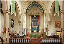 TQ3283 : Holy Trinity, Shepherdess Walk, Hoxton - Sanctuary by John Salmon