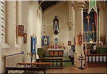 TQ3283 : Holy Trinity, Shepherdess Walk, Hoxton - North chapel by John Salmon