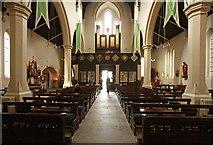 TQ3283 : Holy Trinity, Shepherdess Walk, Hoxton - West end by John Salmon