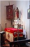 TQ3283 : Holy Trinity, Shepherdess Walk, Hoxton - Shrine by John Salmon
