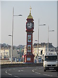 SY6879 : The Jubilee Clock, Weymouth by Richard Rogerson