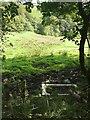 SE0126 : Water trough near Hill House Clough by Humphrey Bolton