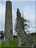 N8869 : Donaghmore Round Tower by James Allan