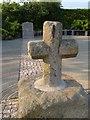 SX7793 : Cheriton Cross by Derek Harper