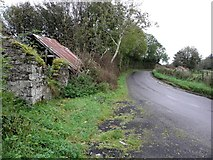 H5472 : Ruined cottage, Bracky by Kenneth  Allen