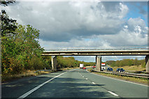 SK5993 : A1(M) - Common Lane bridge by Robin Webster