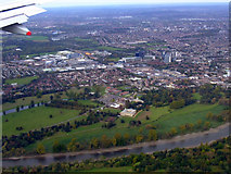 TQ1776 : Syon Park and Brentford from the air by Thomas Nugent