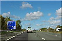 SE4143 : A1(M) - junction 45 in 1 mile by Robin Webster