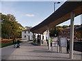 TQ7568 : Platform B, Chatham Bus Station (2) by David Anstiss