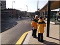 TQ7568 : Bus Stewards, Chatham Bus Station by David Anstiss