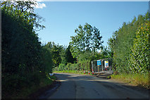 NZ4200 : Construction site entrance, East Harsley by Robin Webster