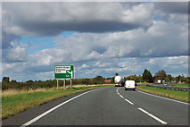 SE4498 : A19 - 1/4 mile to A172 exit by Robin Webster