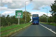 NZ4702 : A172, Swainby by Robin Webster