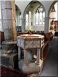 TQ8833 : Font, St Mildred's Church by Maigheach-gheal