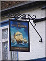 TM2736 : The Three Mariners Public House sign by Adrian Cable