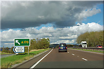 SE4381 : A168 - A170 turning by Robin Webster