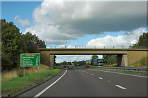 SE4482 : A170 bridge over A19 by Robin Webster